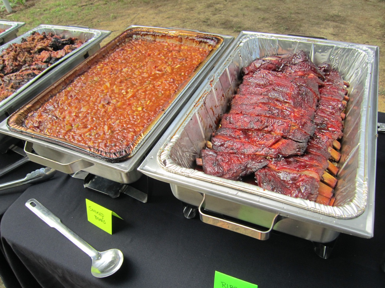 KY Catering Business Services BBQ Ribs Barbeque Grill Charcoal Lexington
